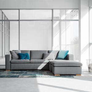 Vega corner sofabed set 3, with storage - 266cm