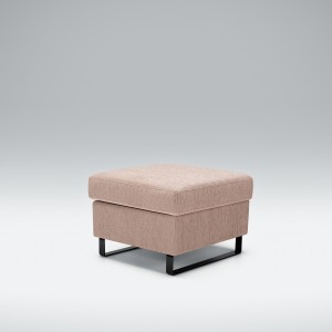 Wells footstool with storage box - Small