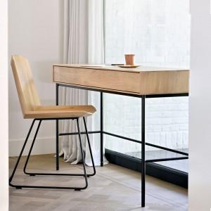 Ethnicraft Oak Whitebird desk - 2 drawers