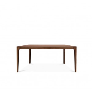 Zurich walnut extending dining table