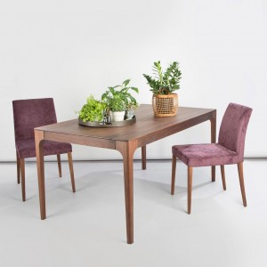 Zurich walnut dining table