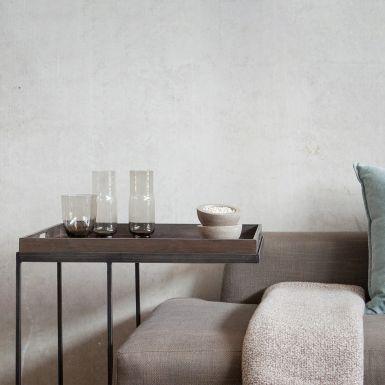 Ethnicraft Rectangular tray side table - large