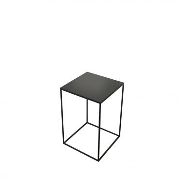 Compact charcoal side table - Medium