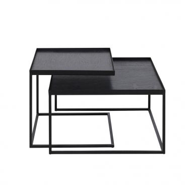 Notre Monde Square Coffee table Tray Table Set