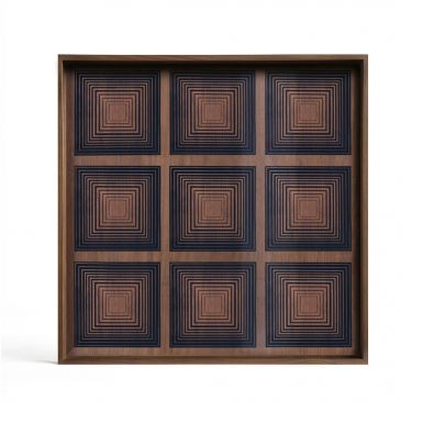 Ink Square glass Tray - Large