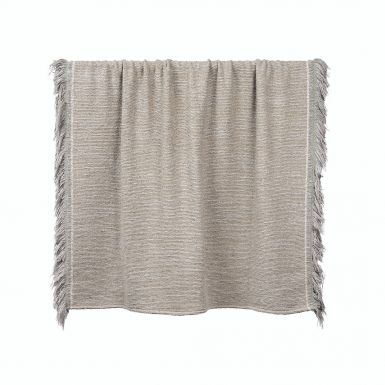 Silver Nomad throw