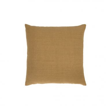 Camel Lin Sauvage cushion