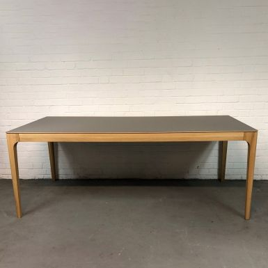 Ex display Zurich fixed table in Grigio Londra and NO finish (228561)