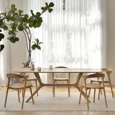 Ethnicraft Oak X dining table