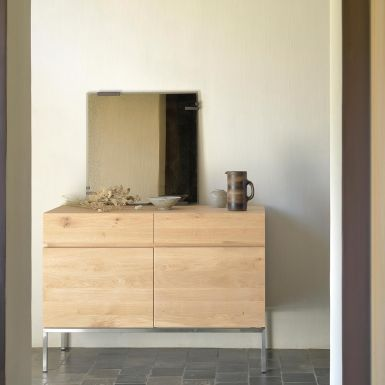 Ethnicraft Oak Ligna sideboards