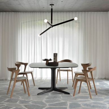 Ethnicraft Oak Corto brown dining table