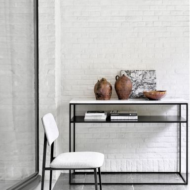Ethnicraft Anders Stone console table