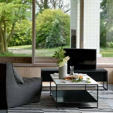 Ethnicraft Stone coffee table – 120cm