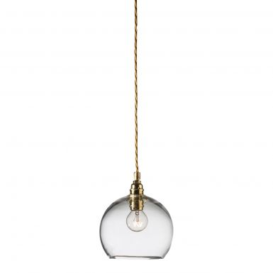 orb-glass-pendant-15-cm-clear-brass-wire