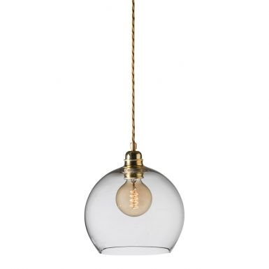 orb-glass-pendant-22-cm-clear-brass-wire