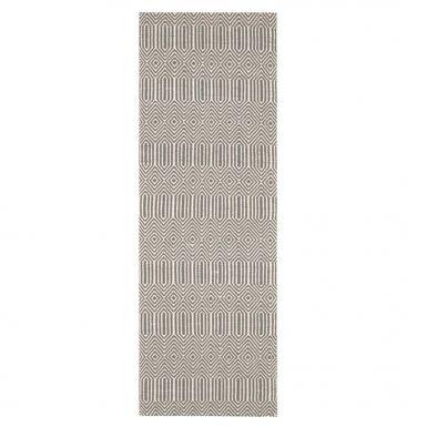 Anouk runner rug - Silver