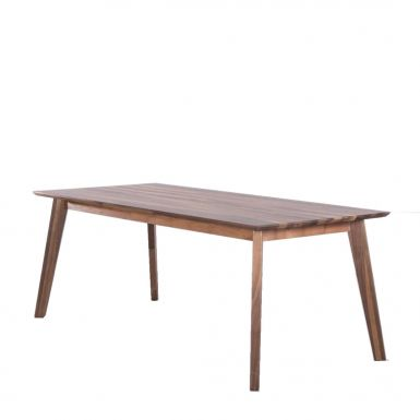 Bianco solid walnut dining table