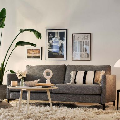 Blade 2.5 seater sofa with loose cover