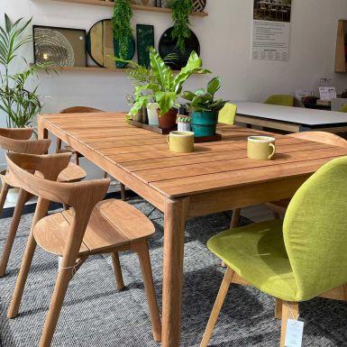 Ex display Bok teak outdoor bok table 200 x 100cm (235942)