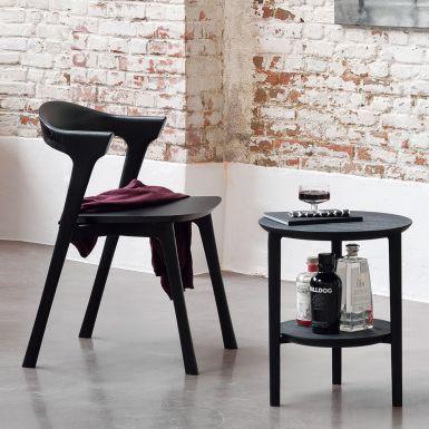 Ethnicraft Black Oak Bok chair