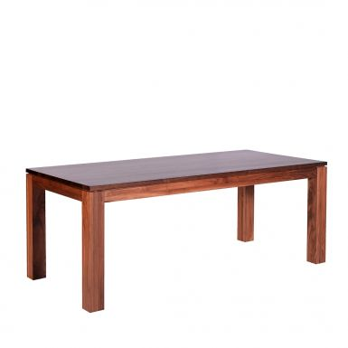 Brooklyn extending walnut dining table