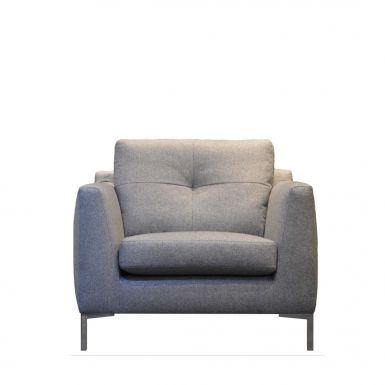 Button armchair
