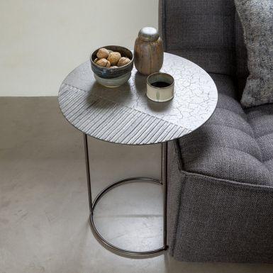 Celeste Lava Linear Side Tables