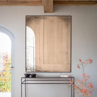 Notre Monde Clear medium aged mirror - wide