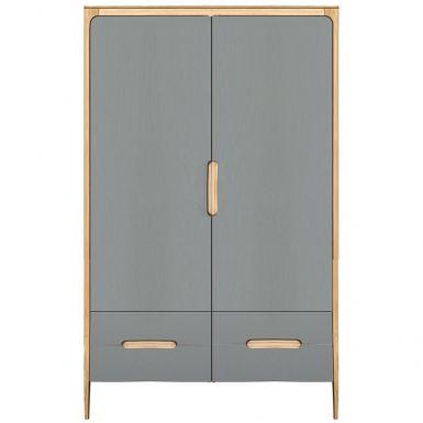 Como large wardrobe - 2 doors, 2 drawers