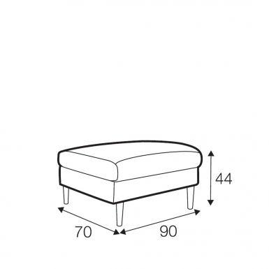 Reya footstool
