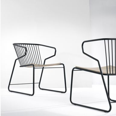 Ethnicraft Oak Gabbia chair