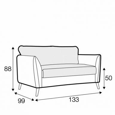 Hampton tuck away armchair sofa bed