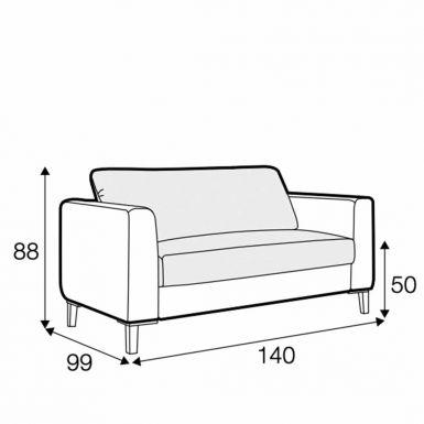 Harlem tuck away armchair sofa bed