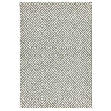 Havana indoor and outdoor grey jewel rug