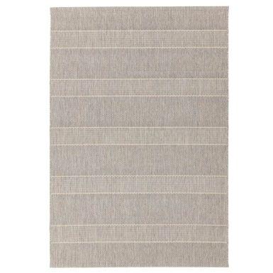 Havana indoor and outdoor beige stripe rug