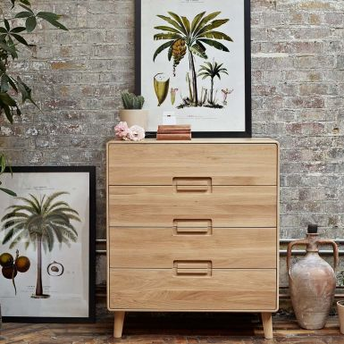 Imola 4 drawer chest of drawers