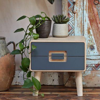 Imola 2 drawer bedside