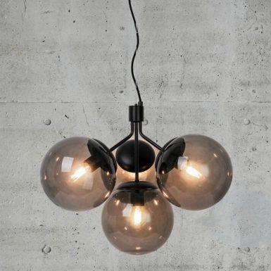 Ivo glass chandelier – 4 shades