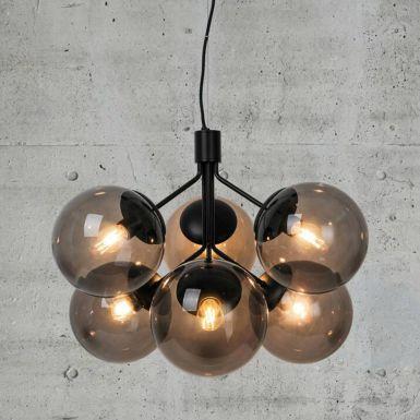 Ivo glass chandelier – 6 shades