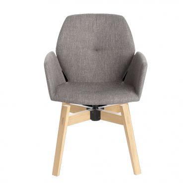 Jay 95 chairs swivel wooden legs