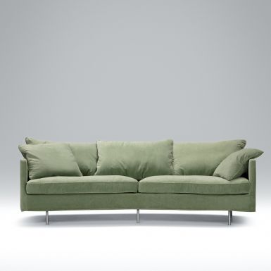 Jules 3 seater XL rounded back sofa