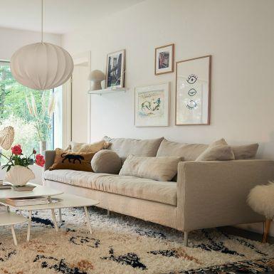 Lasa 4 seater sofa