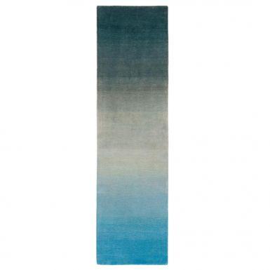 Luco runner rug - Blue