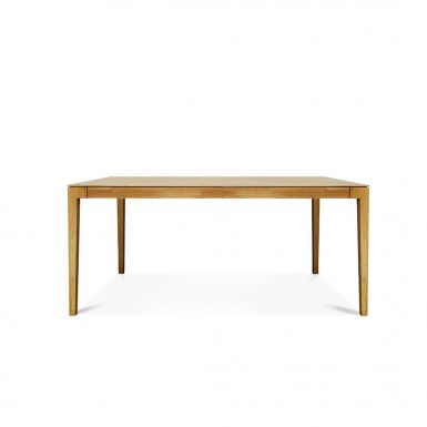 Lugano oak dining table