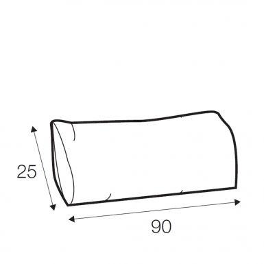 Austin lumbar cushion 90cm