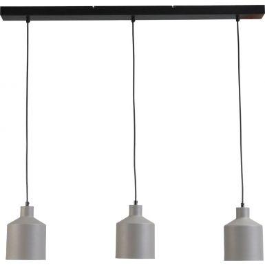 Mantis trio light - black/white/concrete