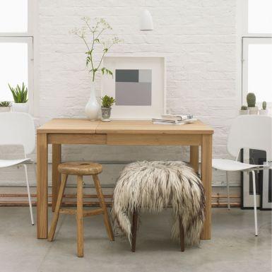 Marco oak extending dining table