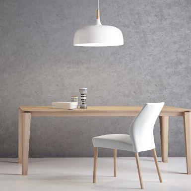 Mason round leg PB2 oak extending dining table