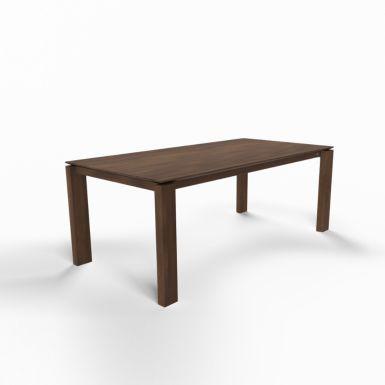 Mason straight leg PB1 walnut dining table