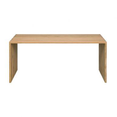 Ethnicraft Oak office U desk - 140 cm